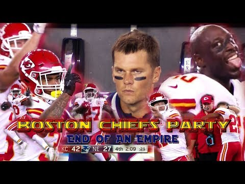 Boston Chiefs Party: End of an Empire