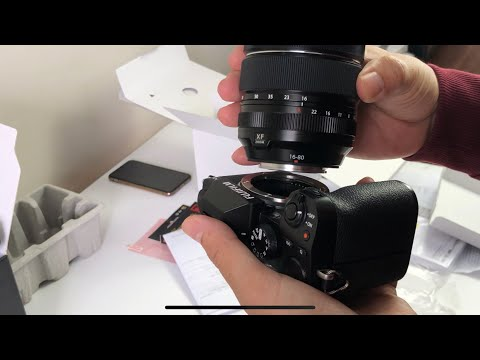 Fujifilm X-S10 +XF 16-80 unbox and hand-on.