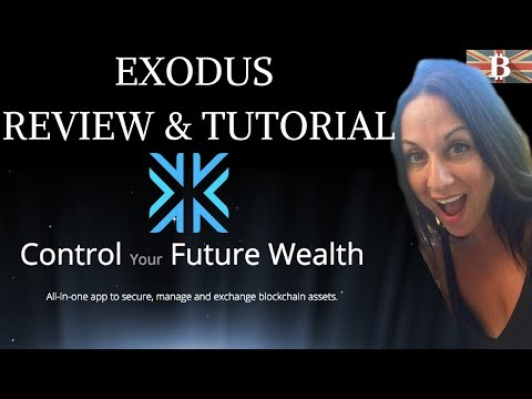 Exodus Wallet Tutorial - Store & Manage your Digital Assets All-In-One App