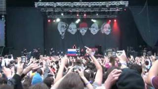 Limp Bizkit - Intro feat My Generation Live in Moscow. 2009
