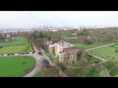 Drone over Blackheath, London - March 2017