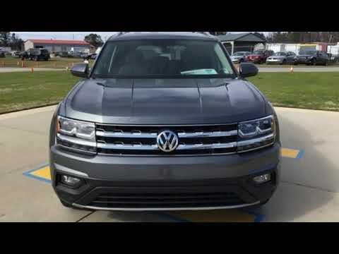 New 2019 Volkswagen Atlas Fayetteville NC Fort Bragg, NC #V16415