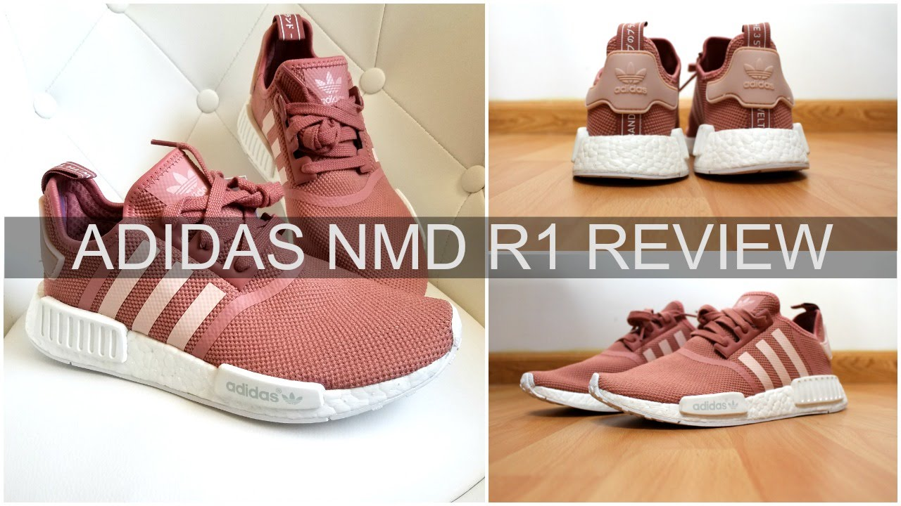 Adidas NMD R1 Vapor Pink Review | NEW RELEASE + Try On