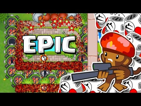 SNIPERS ARE AWESOME::Bloons TD Battles::SNIPERS AND SPIKE FACTORIES