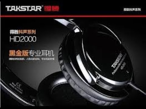 ngeReview HeADPHONE | TAKSTAR HD2000 (antireuploader)
