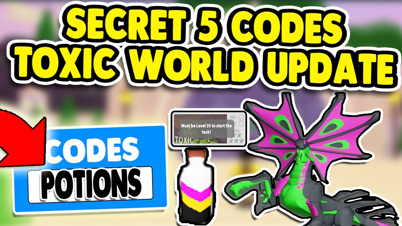 *TOXIC CODES*NEW SECRET 5 WORKING CODES IN DRAGON ADVENTURE ROBLOX - YouTube