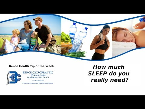 Chiropractor Sterling Heights MI How Much SLEEP do you really need?