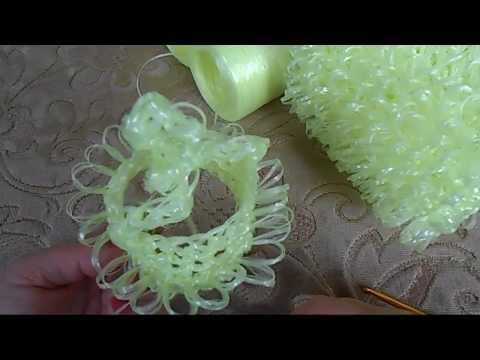 Видео: Вытянутые петли / Способ 3 / Вязание крючком