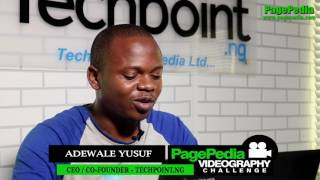 PagePedia Videography of Adewale Yusuf CEO Techpoint.ng