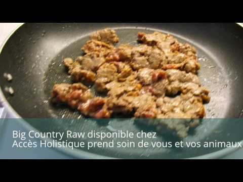 Big Country Raw nourriture de qualité sans hormones antibiotiques - absolute quality