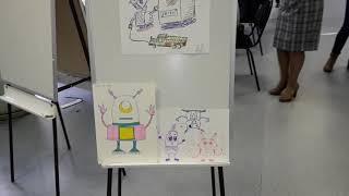 Рисунки детей Уголок творчества