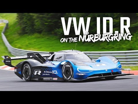 Fastest Electric Car Ever! | VW ID.R on the Nürburgring Nordschleife