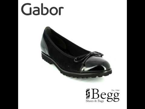 Gabor Temptation 53.100.17 Black patent/suede pumps