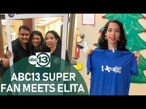 ABC13 Meteorologist visits South Houston Elementary School