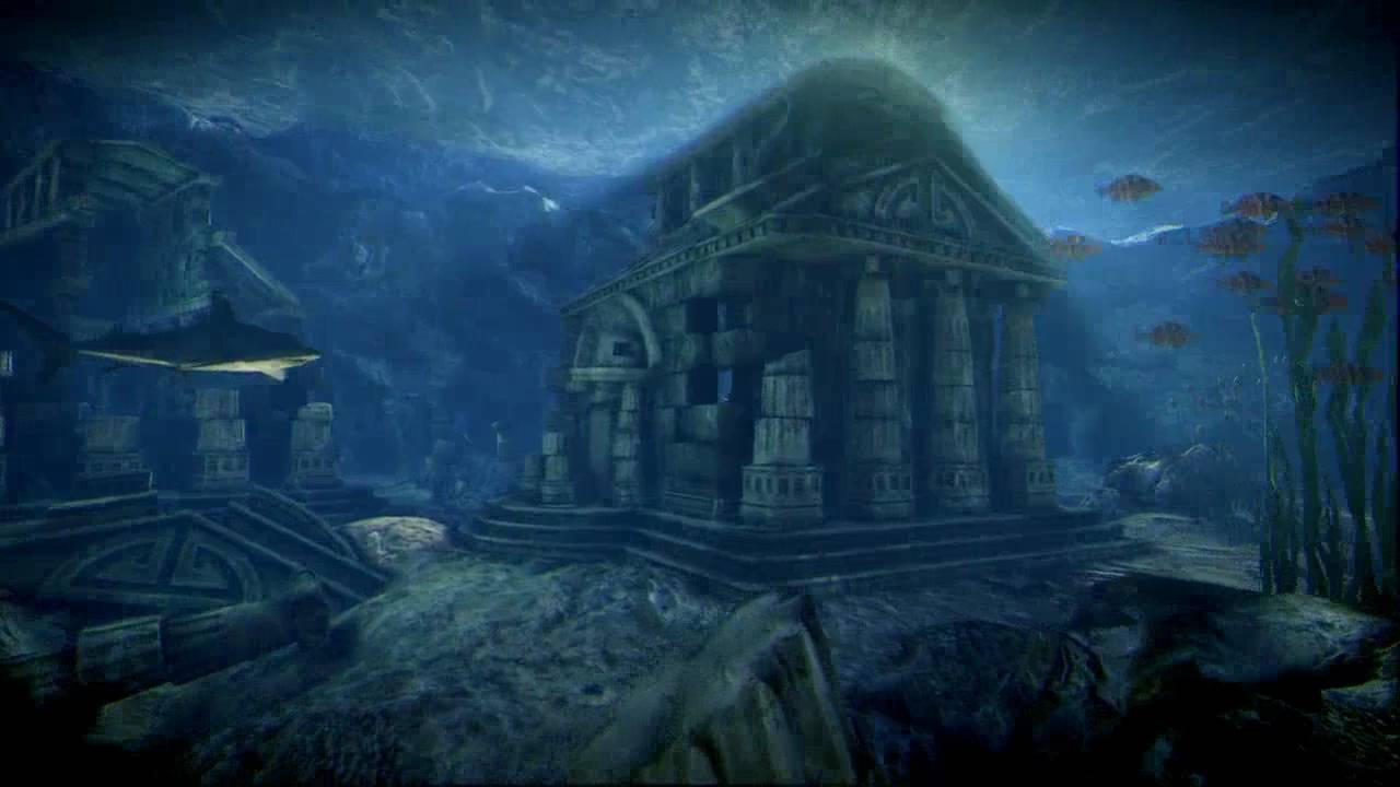Lost Girl Wallpaper Hd Underwater Ruins Udk Test Level Youtube
