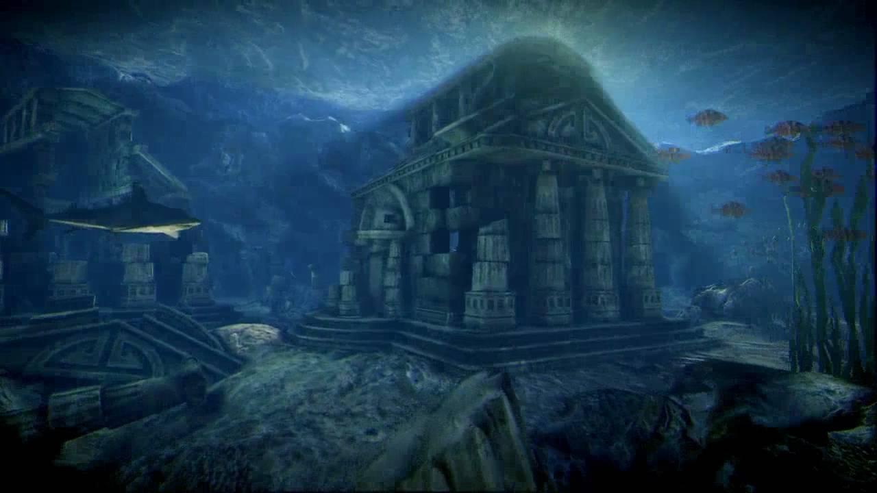 Underwater Ruins Udk Test Level Youtube