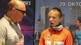 Vor dem Frankfurt-Marathon: Katharina Heinig und Fate Tola im Interview