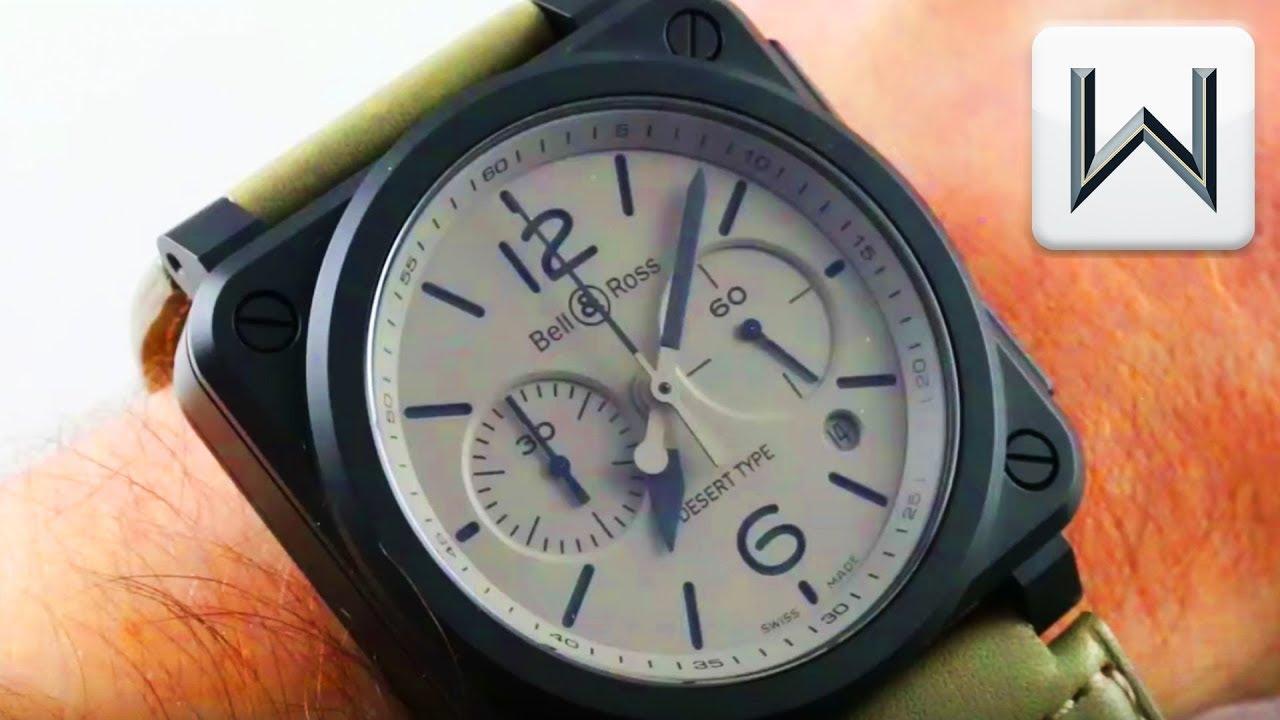 Bell & Ross BR03-94 Desert Type Ceramic (BR0394-DESERT-ICE) Luxury Watch  Review