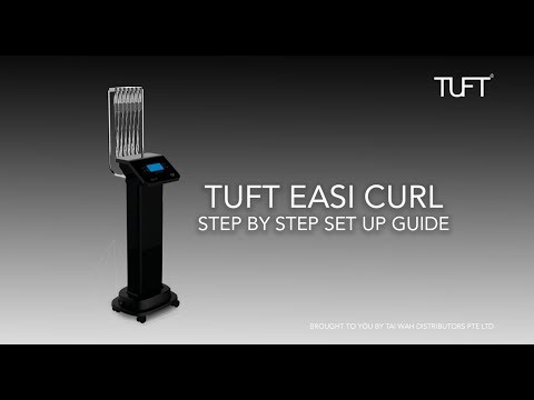 TUFT Easi Curl Perm Machine Step by Step Set up Guide