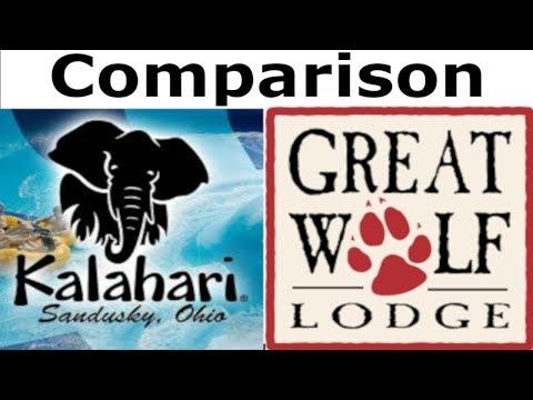 Comparison Between Kalahari And Great Wolf Lodge Water Park