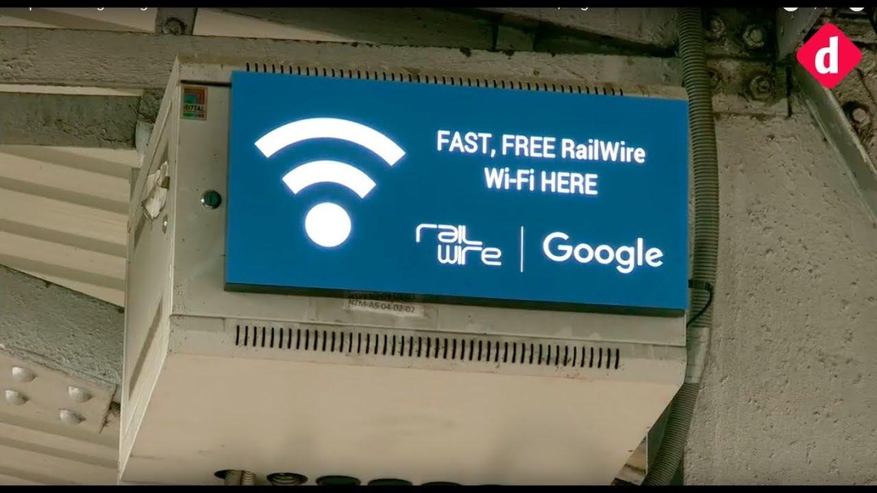Experiencing Google-RailTel free Wi-Fi on Nizamuddin station in New Delhi | Digit.in #1