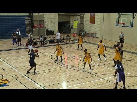 Men's Basketball: Tigers vs. Alumni (2017)