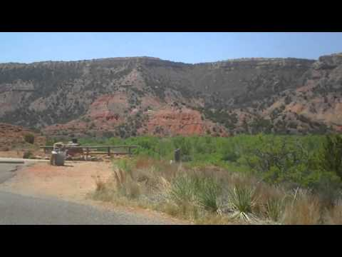 Route 66: Amarillo TX through Palo Duro Canyon and back - Part 7