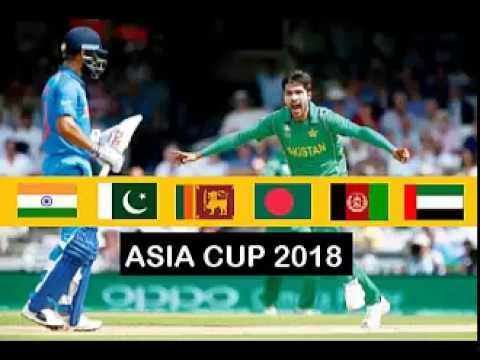 Asia Cup confirmed in UAE Complete Schedule 2018