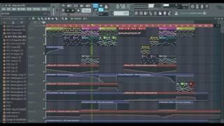 Adiga adiga ( Ninnu kori ) -- Piano and bass backing track ( karaoke)||FL Studio playthrough||
