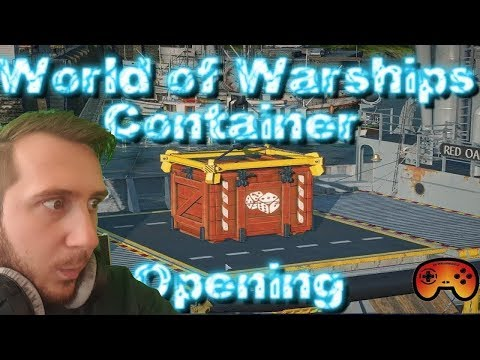Container Opening 105 Container - World of Warships - Gameplay - German - Deutsch