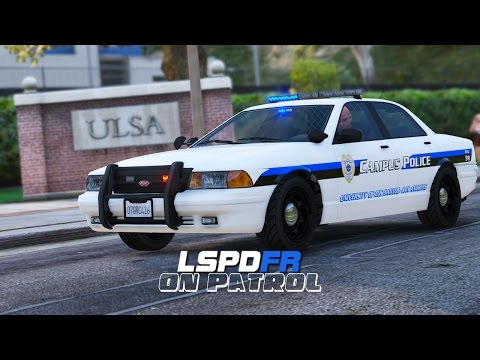 LSPDFR - Day 40 - Campus Police