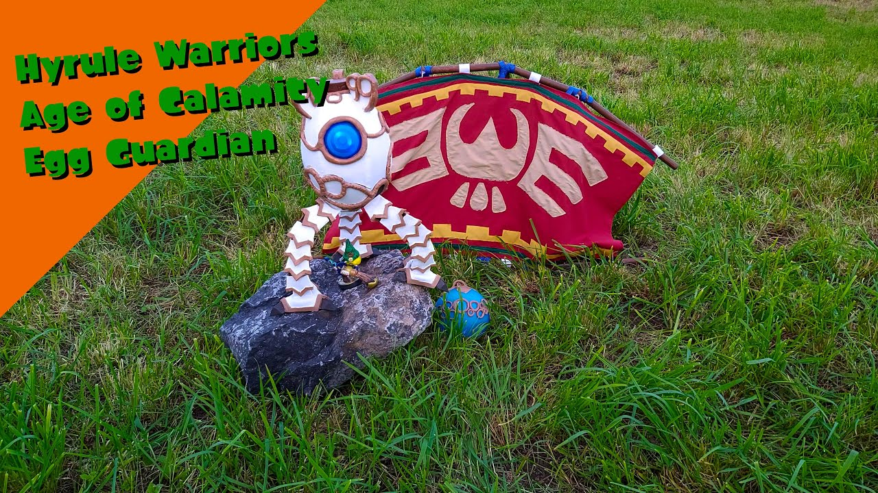 Hyrule Warriors Age Of Calamity Egg Guardian Replica Youtube