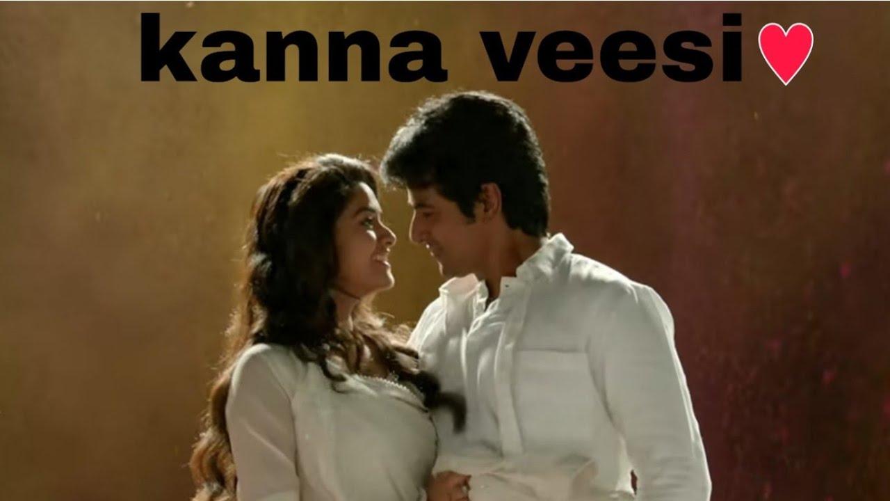 Kanna Veesi kanna veesi Tamil song what's up status - YouTube