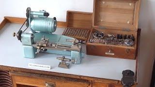 Boley Leinen WW 83 Watchmaker Lathe with Accessories