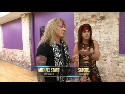Steel Panther - Satchel & Michael Starr on Dancing with the Stars