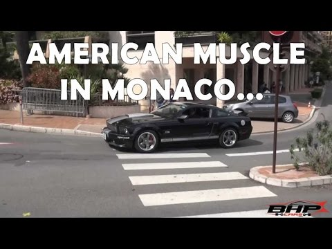 American Muscle Cars In Monaco For Top Marques 2016