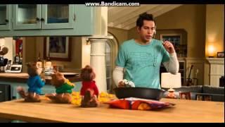 Alvin ve Sincaplar 2-Peynir Topu Sahnesi