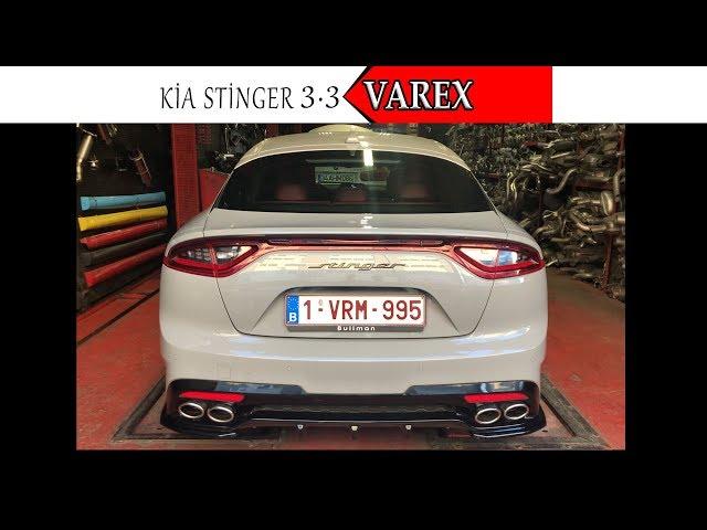 KİA STİNGER GT2 400 HP 3.3 V6 KUMANDALI VAREX EGZOZ SESİ