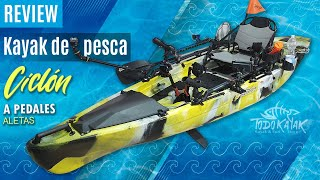 "Vídeo: Kayak de Aletas ""Ciclón"""