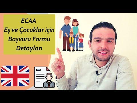 Ankara Anlaşması Dependant ( Bağımlı Eş ve Çocuk ) Vize Başvuru Formları Nasıl Doldurulur? - 2020 🇬🇧