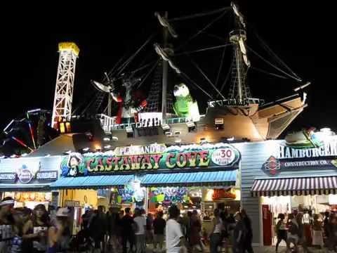 Castaway Cove Boardwalk Ocean City New Jersey Youtube