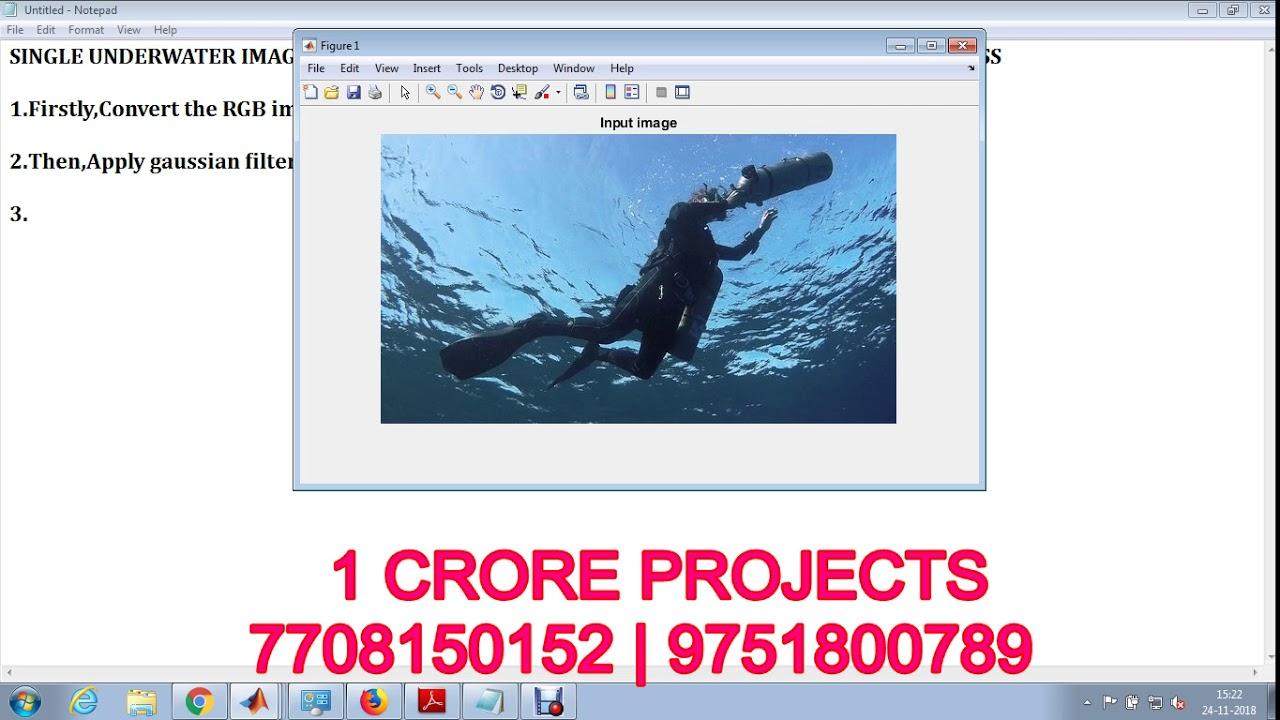 Single underwater image enhancement using depth estimation based on  blurriness