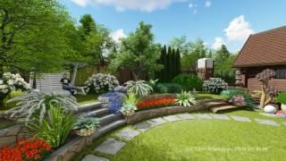 Ландшафтный дизайн  Проект участка 10 соток(, 2017-07-31T07:46:07.000Z)