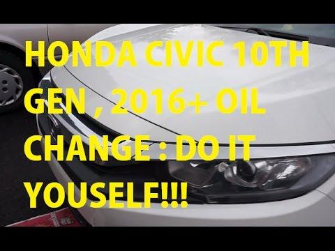 Honda civic 10th gen oil change reset reminder 2016 youtube honda civic 10th gen oil change reset reminder 2016 solutioingenieria Choice Image