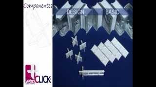 компоненты системы VetroClick. Укладка стеклоблоков(Показан принцип работы с компонентами системы VetroClick, на примере укладки стеклоблоков Seves glassblock в душевой..., 2013-02-14T12:18:46.000Z)