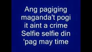 Selfie Song - Davey Langit & Jamich Lyrics