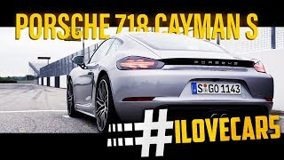 Porsche 718 Cayman S 2016 Test Fahrbericht - #ilovecars