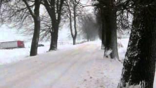 Zima w woj. Kujawsko-Pomorskim - Jasiewo