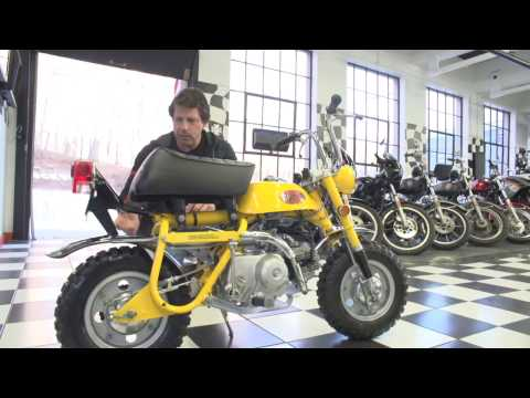 1971 Honda Z50 Mini Trail FULLY RESTORED | WATCH IT RUN!