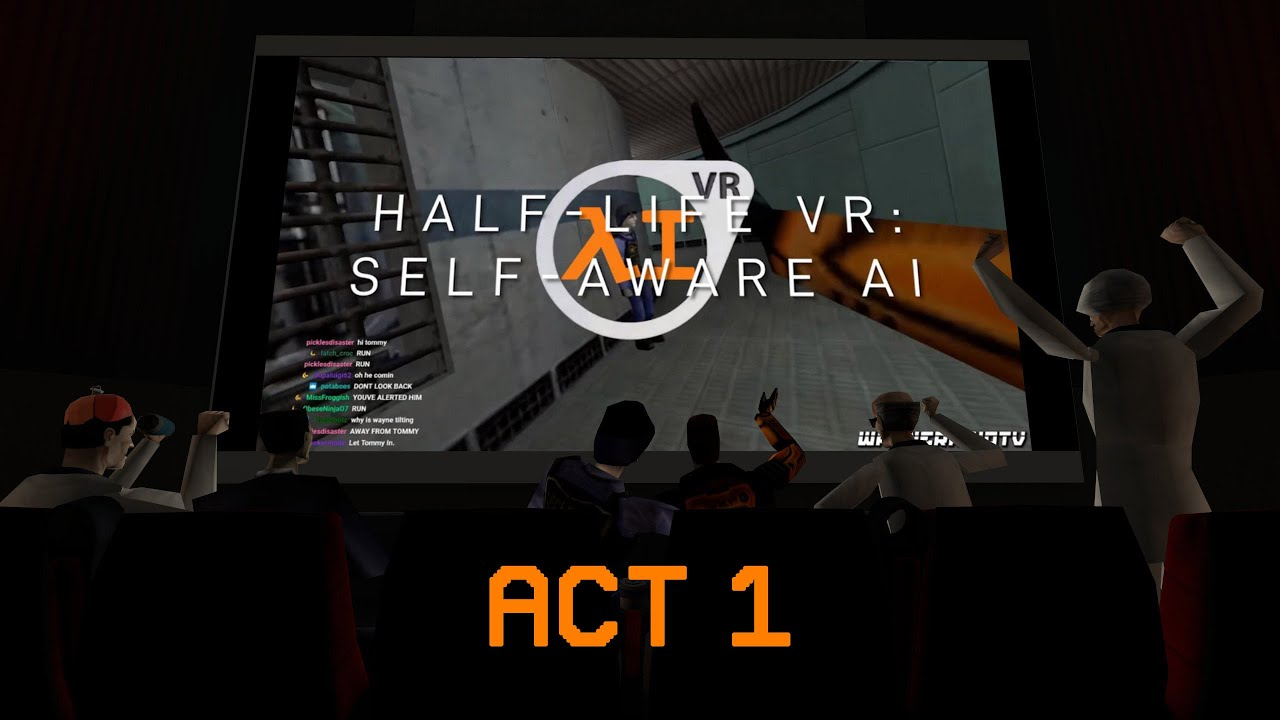Download Half-Life VR:AI But The Cast is Commentating (ACT 1)